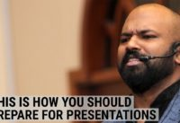 How a world champion of public speaking prepares for presentations