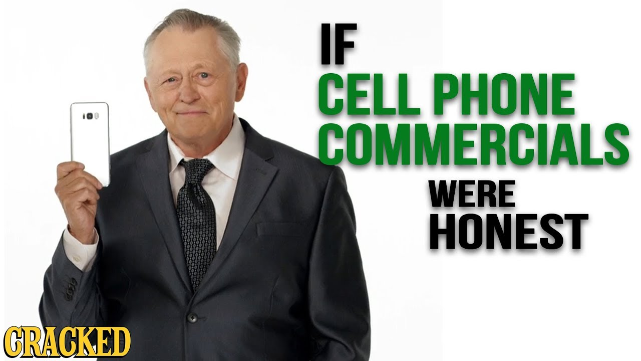 If Cell Phone Commercials Were Honest - Honest Ads (iPhone, Android)