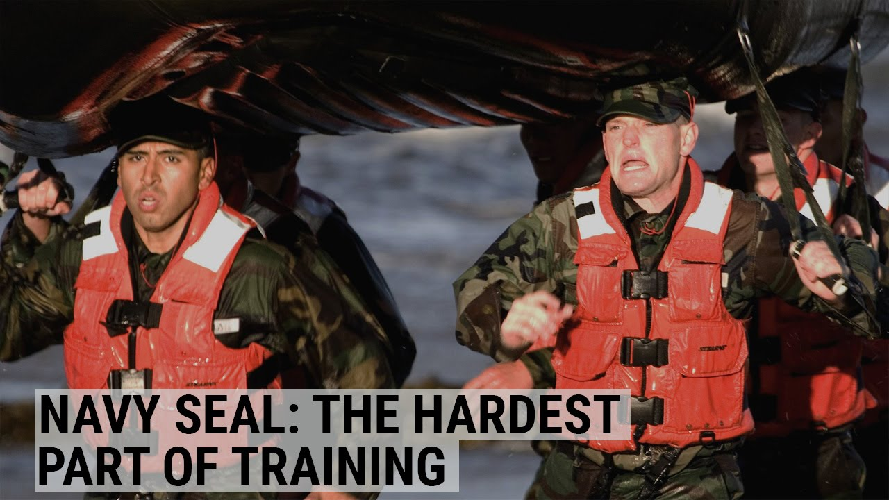 A Navy SEAL reveals the hardest part of training
