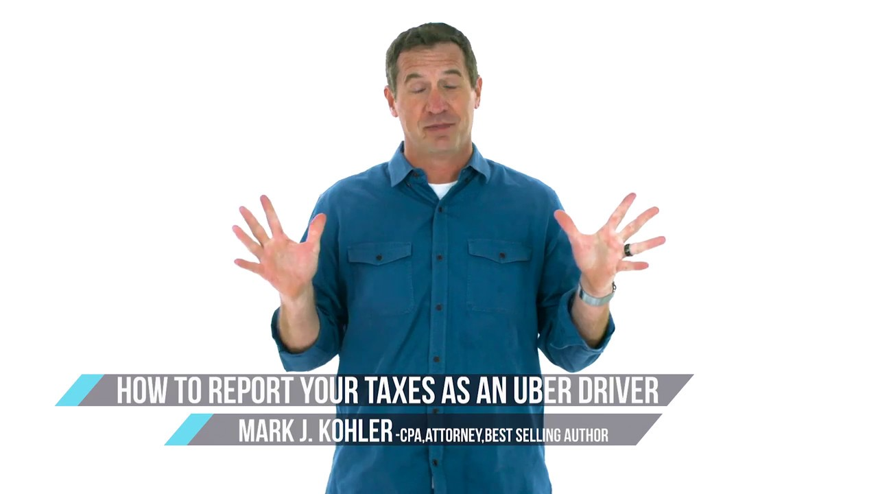 How to Report Your Taxes As An Uber Driver