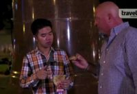 """Bizarre Foods"" host Andrew Zimmern cruises around Ho Chi Minh City for late night street food"