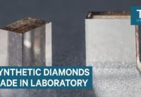 These lab-grown diamonds are identical to natural ones