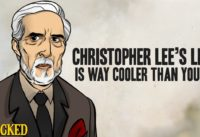 Christopher Lee's Life Is Way Cooler Than Yours