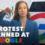 60-Second Video: Protest Planned at Google