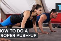 An exercise scientist explains the proper way to do a push-up