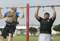 Here's the workout routine a retired US Navy admiral uses to stay in tip-top shape