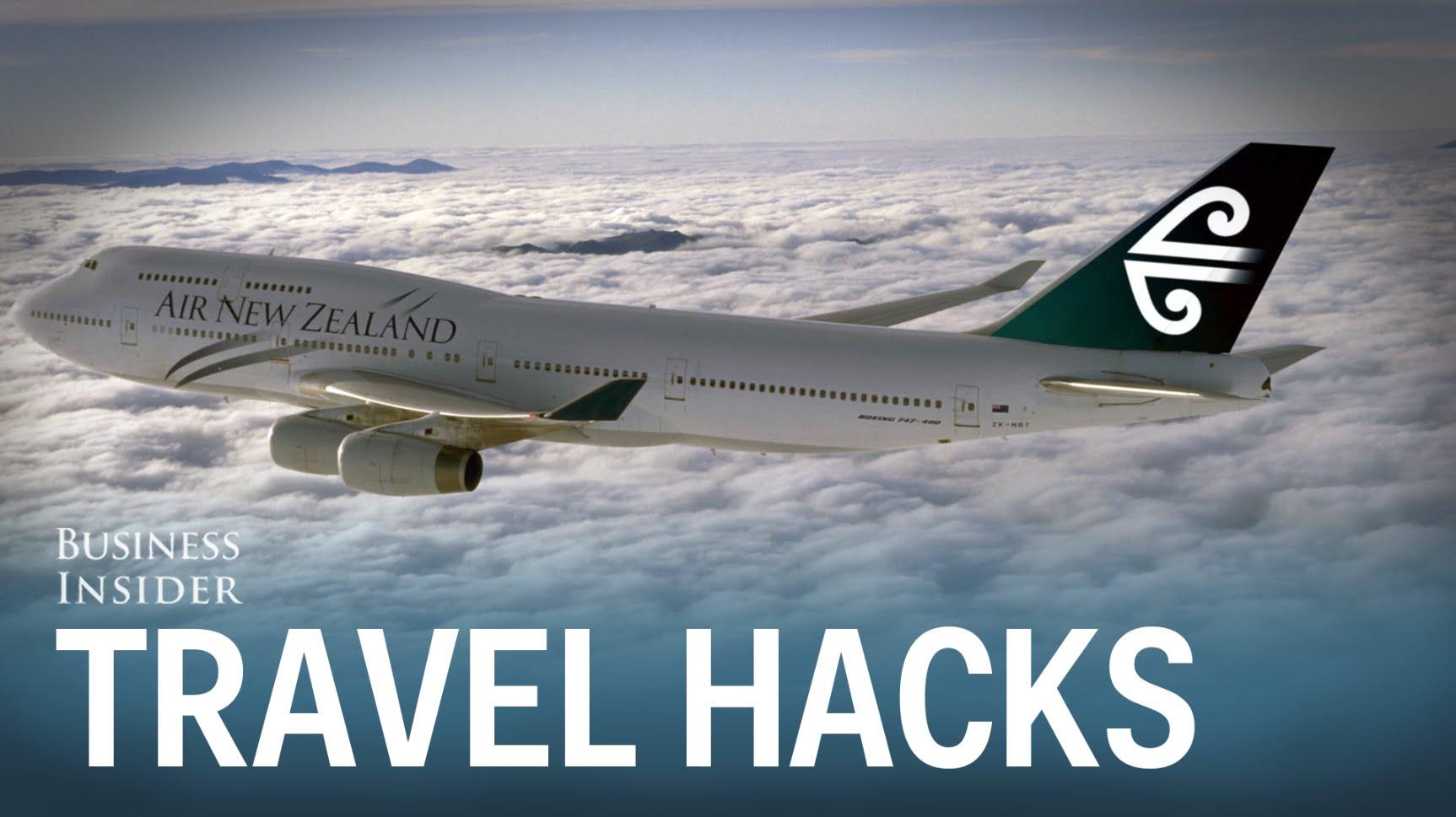 8 awesome travel hacks