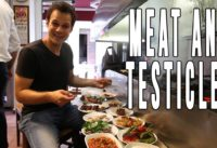 Enter Meat Heaven + Juicy Testicles | Tasty Turkish Food