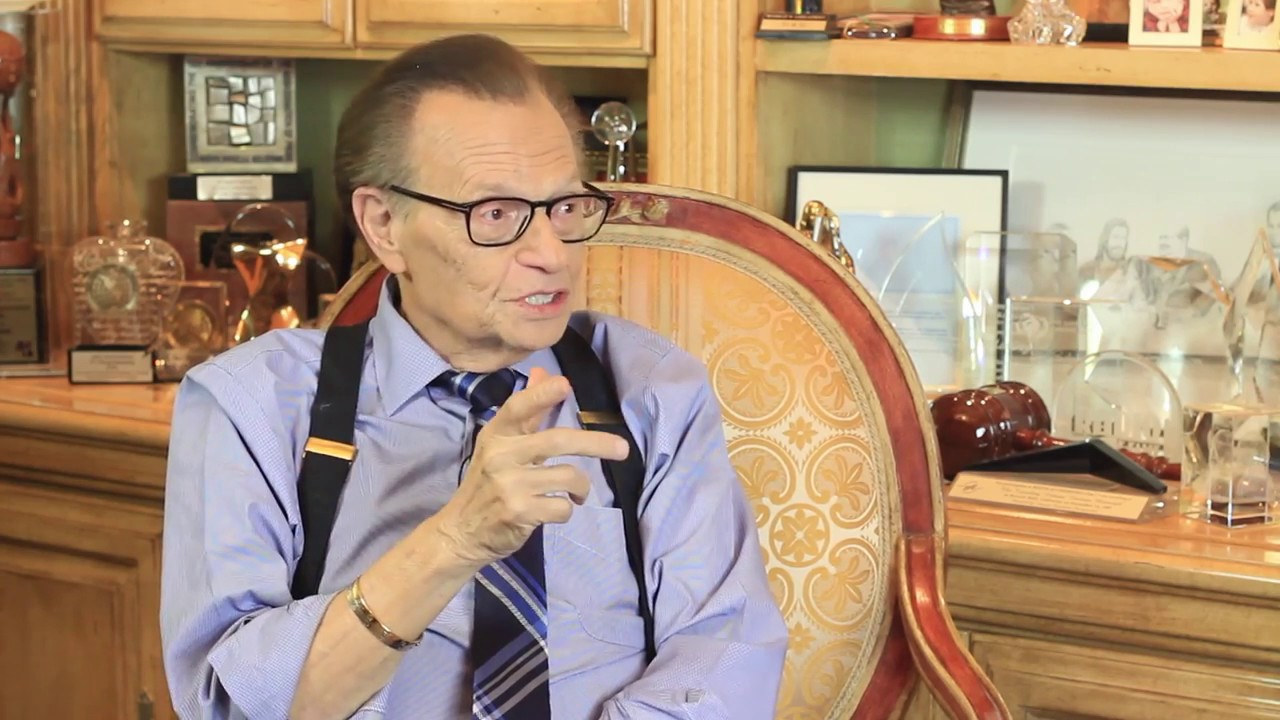Larry King Shares How to Become a Master Communicator