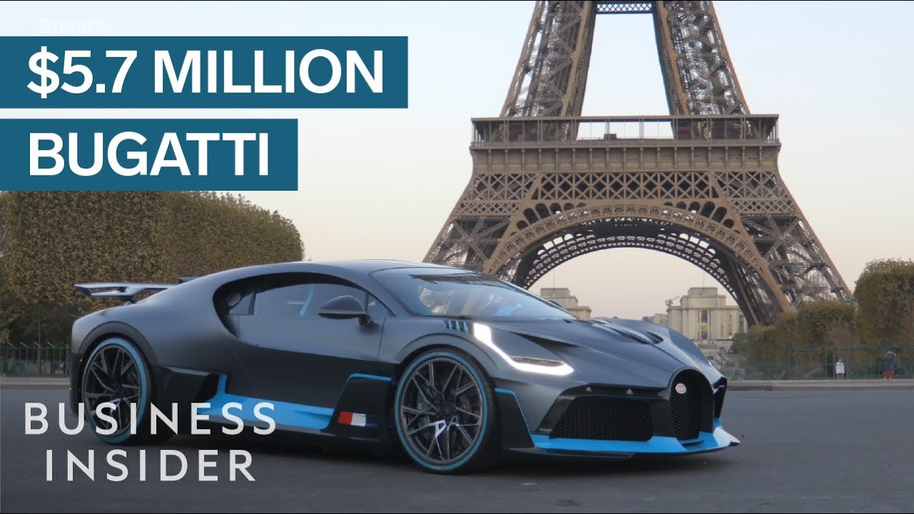 Take A Look At The New $5.7 Million Bugatti Divo