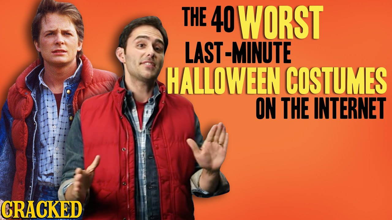 The 40 Worst Last-Minute Halloween Costumes on the Internet - The Spit Take