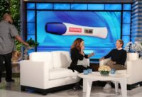 Ellen Meets Viral Pregnancy Test Couple Jahann & Charles Stewart