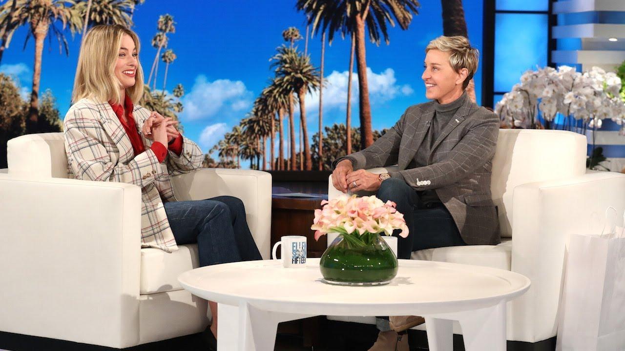 You Won't Believe Margot Robbie's Honeymoon with Ellen, Short Shorts & a President