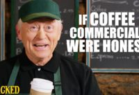 If Coffee Commercials Were Honest - Honest Ads (Starbucks, Coffee Bean, Folgers Parody)