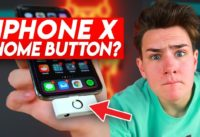The iPhone X Home Button Adapter
