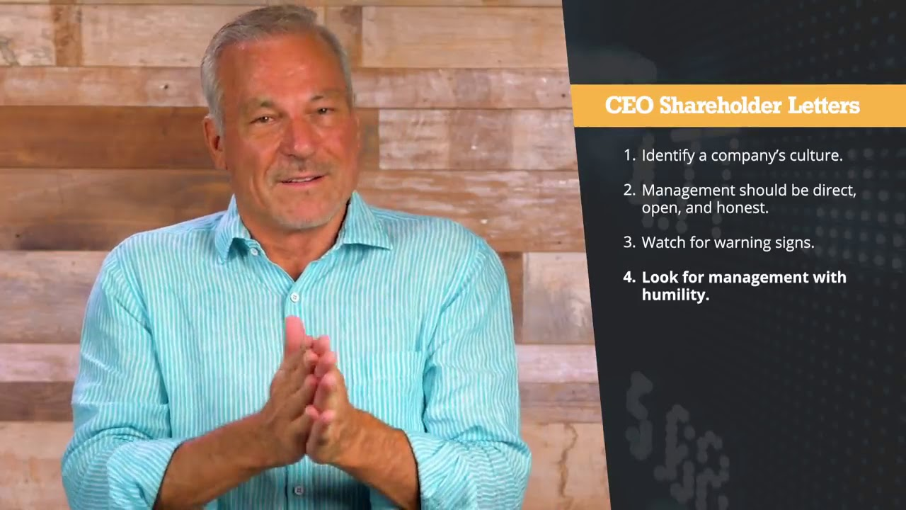 How to Read Shareholder Letters