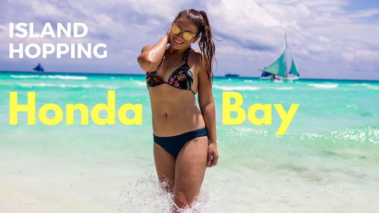 Island Hopping in Honda Bay Puerto Princesa Palawan & Making Filipino Friends -The Philippines Vlogs