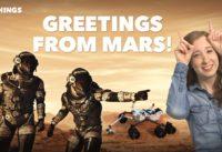 Mars Lander Sends First Snapshots (60-Second Video)