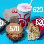 What 2,000 Calories Looks Like At Major Fast-Food Restaurants