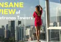 Insane Luxury Apartment in Kuala Lumpur - Best view of Petronas Towers