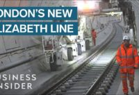 Inside London's New £15bn Elizabeth Line Upgrade