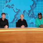 Ellen Joins Michael Che and Colin Jost for 'Weekday Update'