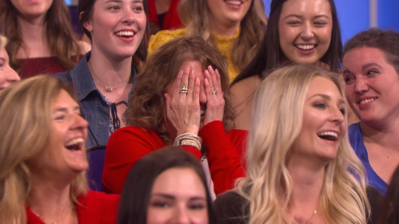 Ellen Deciphers Her Audience's Seating Choices