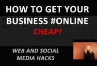 How to Get Your Business Online Cheap