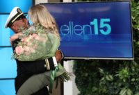 Ellen Reunites Superfan with Her Navy Boyfriend