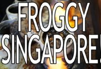 Eating Frog in Singapore! Would you try this?