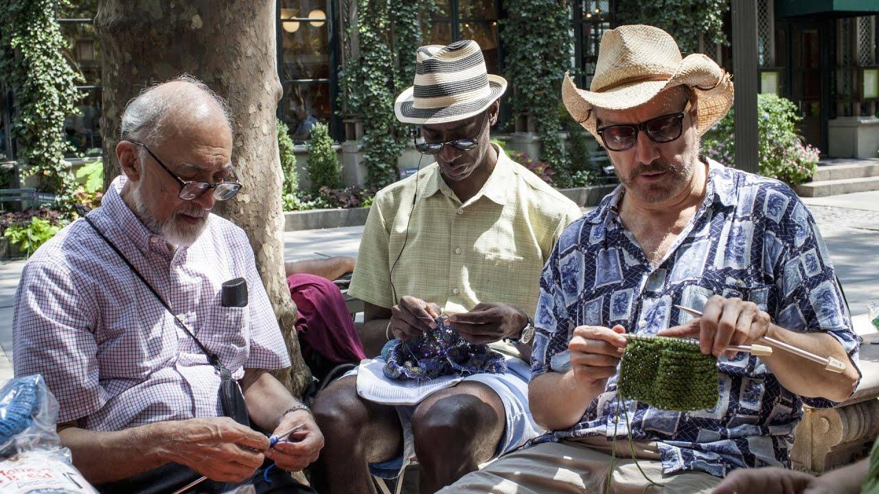 Crafty Men Find Community in Knitting
