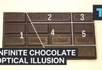 Viral Optical Illusion Creates Infinite Chocolate