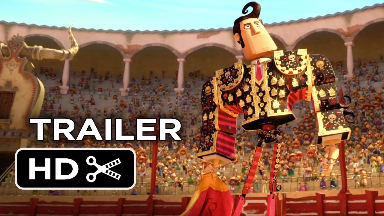 The Book of Life Official Trailer #1 (2014) - Channing Tatum, Zoe Saldana Animated Movie HD