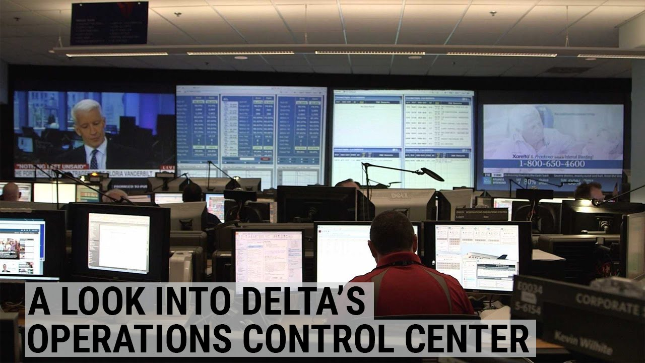 A Look Into Delta's Operations Control Center