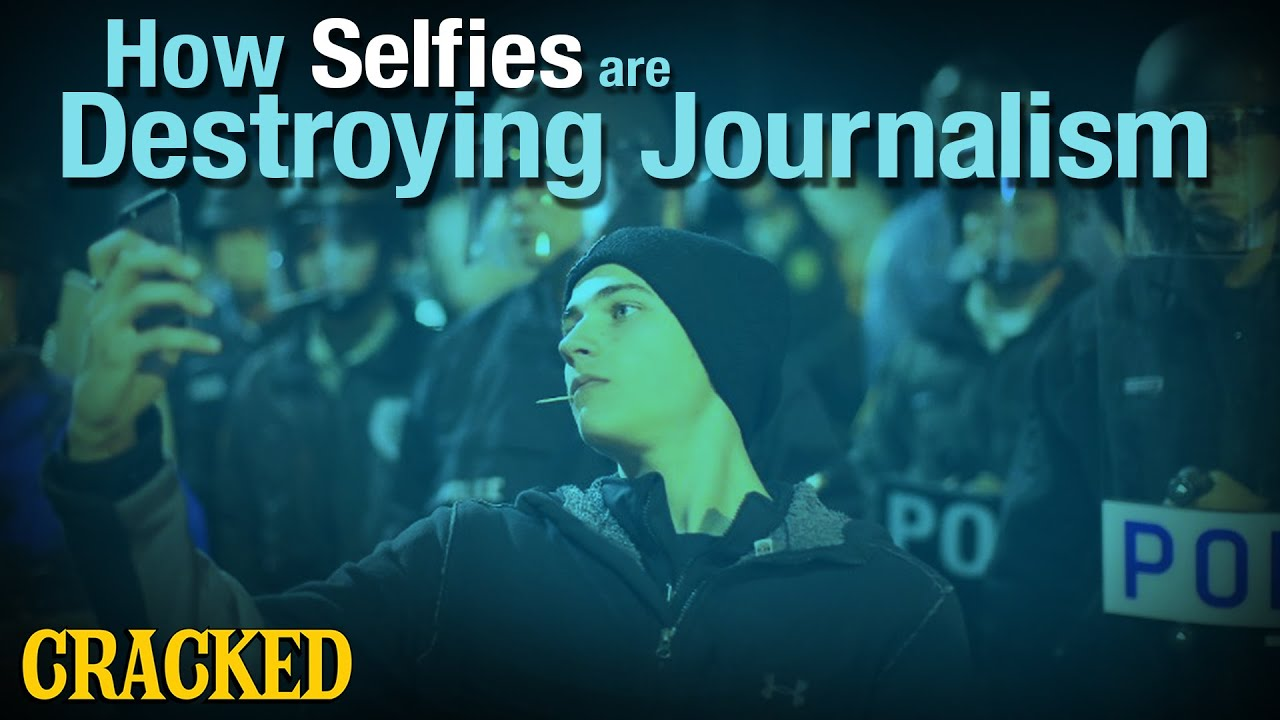 How Selfies are Destroying Journalism