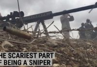 The scariest part about being a sniper