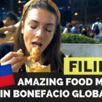 Amazing FILIPINO FOOD MARKET Mercato Centrale in BGC