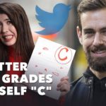"Twitter CEO Grades Himself ""C"""
