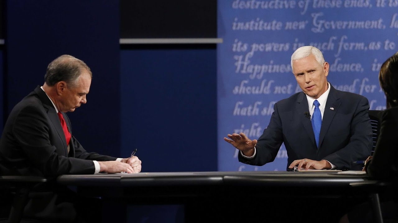 Mike Pence's 'knockout punch' of the VP debate