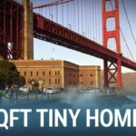 Take a tour of this stunning 100 year old 88 square foot tiny home in San Francisco