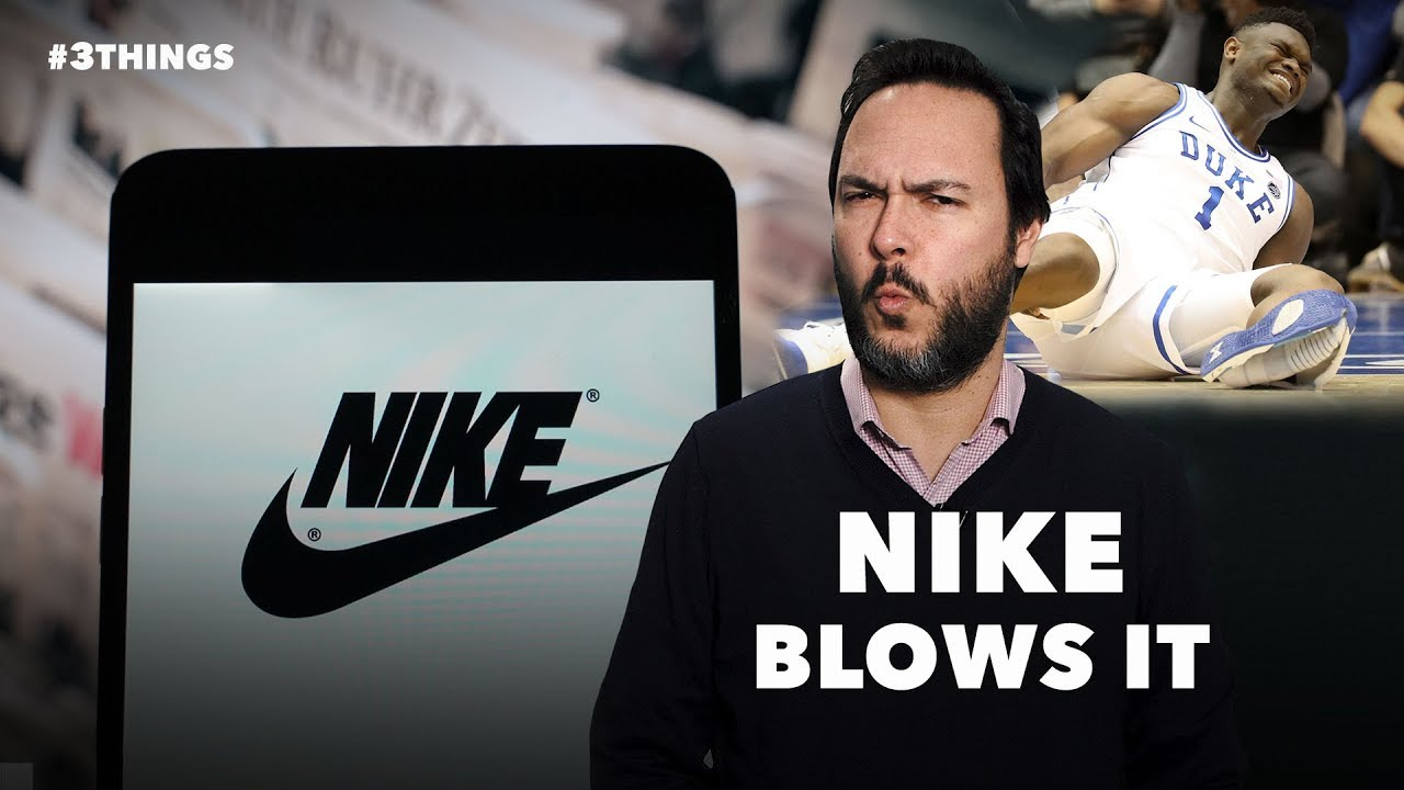Nike High-Tops Split Open Mid-Game, Injuring Duke Basketball Superstar Zion Williamson