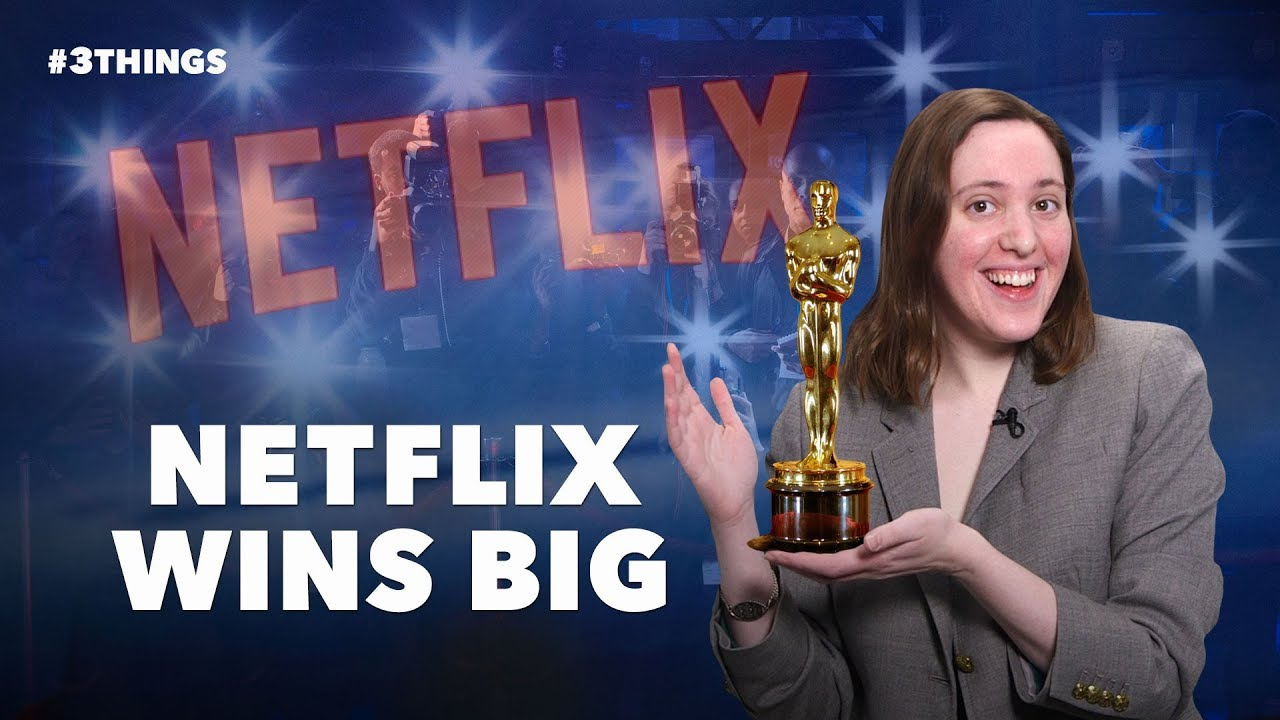 Netflix Wins Big at the Oscars and Virgin Galactic Reaches for the Stars