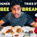 Crazy FOREIGNER trying every JOLLIBEE BREAKFAST in Manila - Filipino Food Vlog!