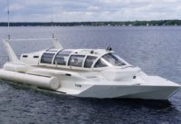 Speedboat Transforms Into A Submarine