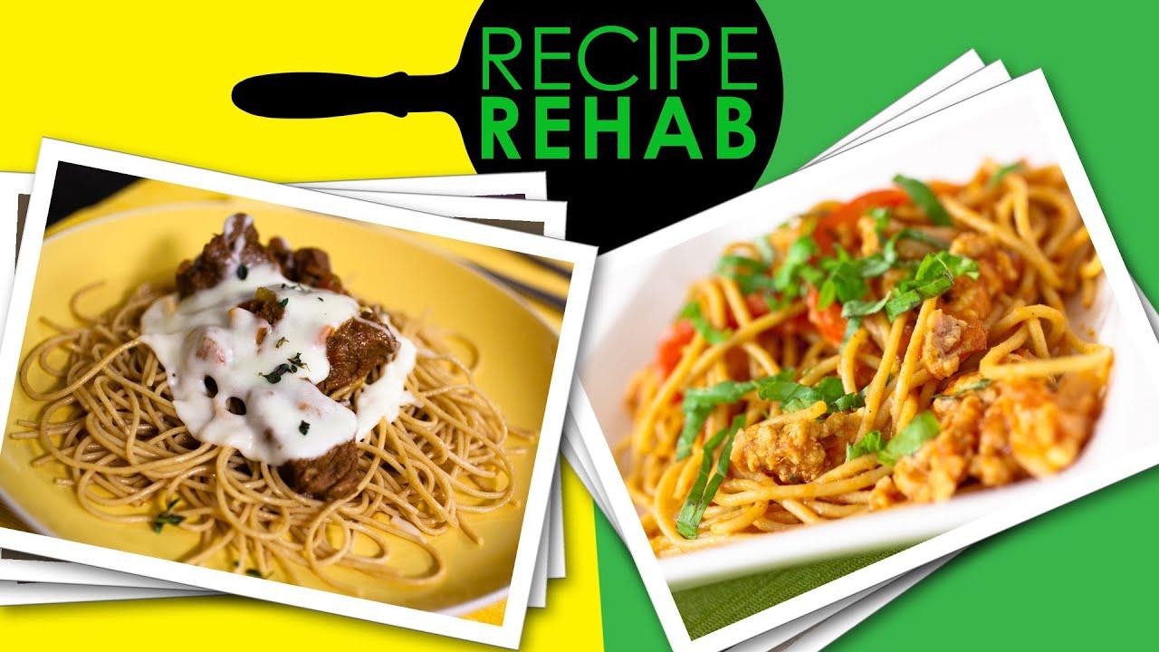 Chili Cheese Spaghetti Made Healthy I Recipe Rehab I Everyday Health