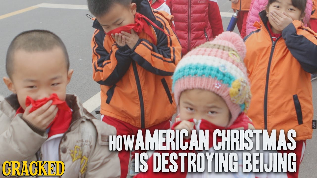 How American Christmas Is Destroying Beijing