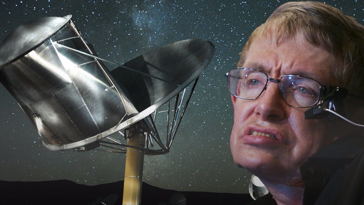 Stephen Hawking warned us about contacting aliens, but it may be too late