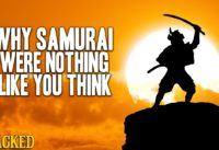 Why Japan's Samurai Were Nothing Like You Think - Hilarious Helmet History