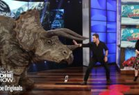 Chris Pratt and Bryce Dallas Howard Give the Audience a Big Surprise