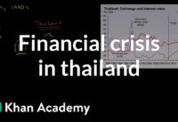 Financial crisis in Thailand caused by speculative attack | Macroeconomics | Khan Academy